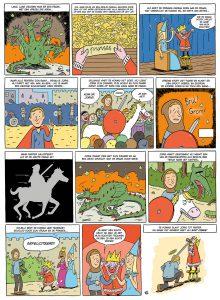 Joris en de Draak strip
