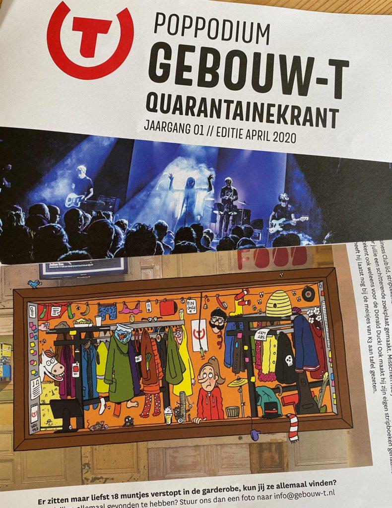 Gebouw-T-quarantainekrant