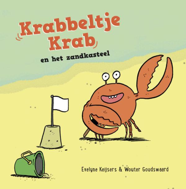 Krabbeltje Krab en het zandkasteel